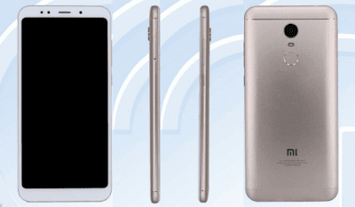 Redmi Note 5 (Tenaa)