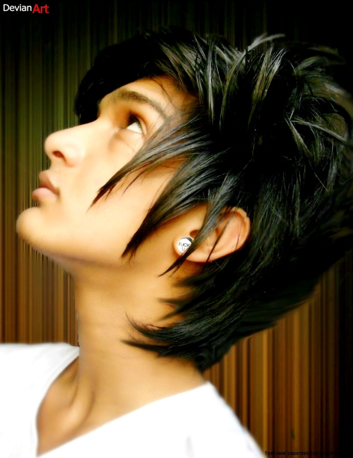 Pleasing Emo Boy Sam Llansing Hairstyles Free High Definition Wallpapers Hairstyles For Women Draintrainus