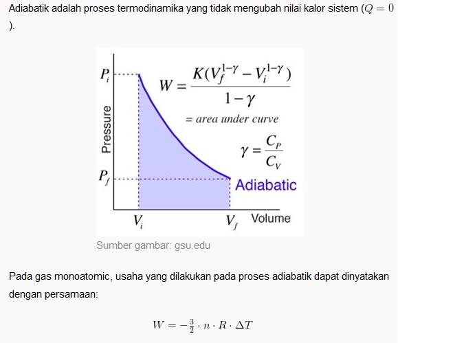 Termodinamika jika diperhatikan dengan sekilas proses adiabatik dan isotermik memiliki diagram p v yang serupa secara detil dapat dilihat bahwa proses adiabatik ccuart Gallery