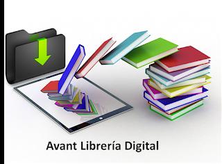 logotipo de avant librería tienda digital