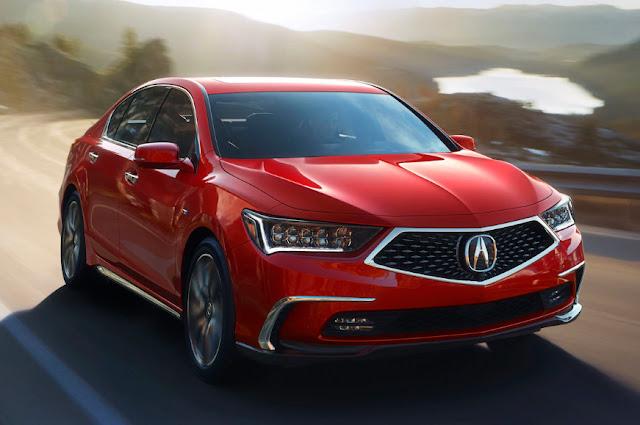Начало продаж 2018 Acura RLX стартовало