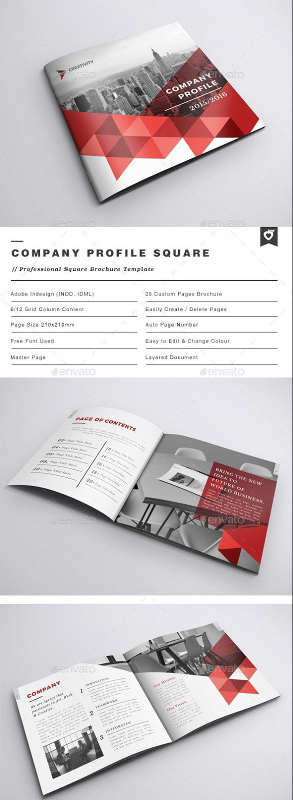 100 free premium brochure templates photoshop psd for Indesign brochure templates free