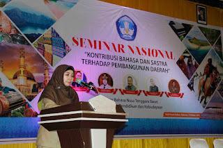Wagub NTB Dukung Pergub Pelestarian Bahasa Demi Kemajuan Daerah