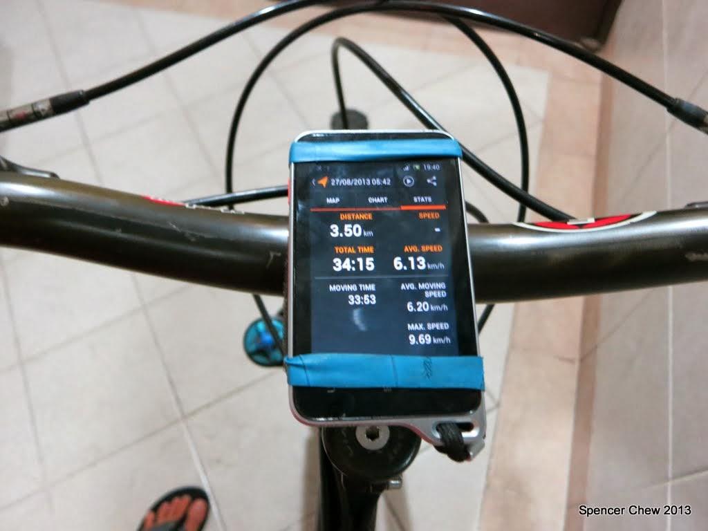 Outdoor Gadgets: DIY Universal Smartphone Bike Mount