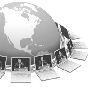 INXPO Webcasting: Mixed Media Technology