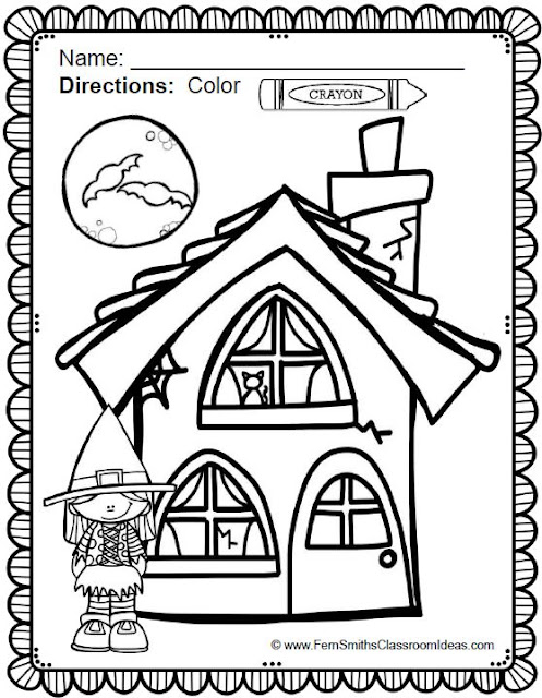 fun classroom coloring pages - photo #24