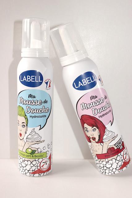 Labell - Ma mousse de douche les petites bulles de ma vie