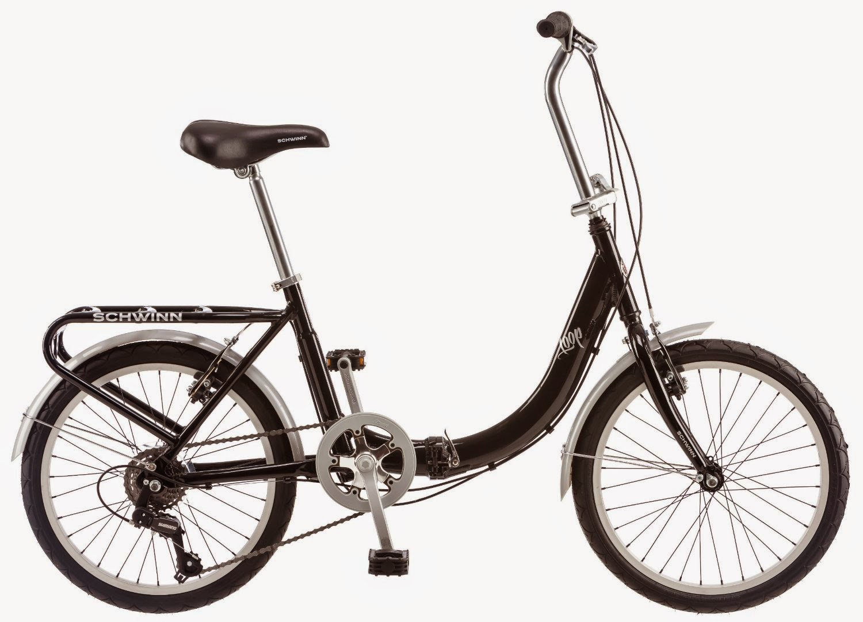 Exercise Bike Zone Schwinn 20 Inch Loop Folding Bike Review