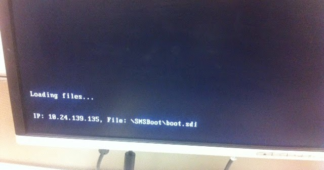 Dell Optiplex 3010 can't PXE boot