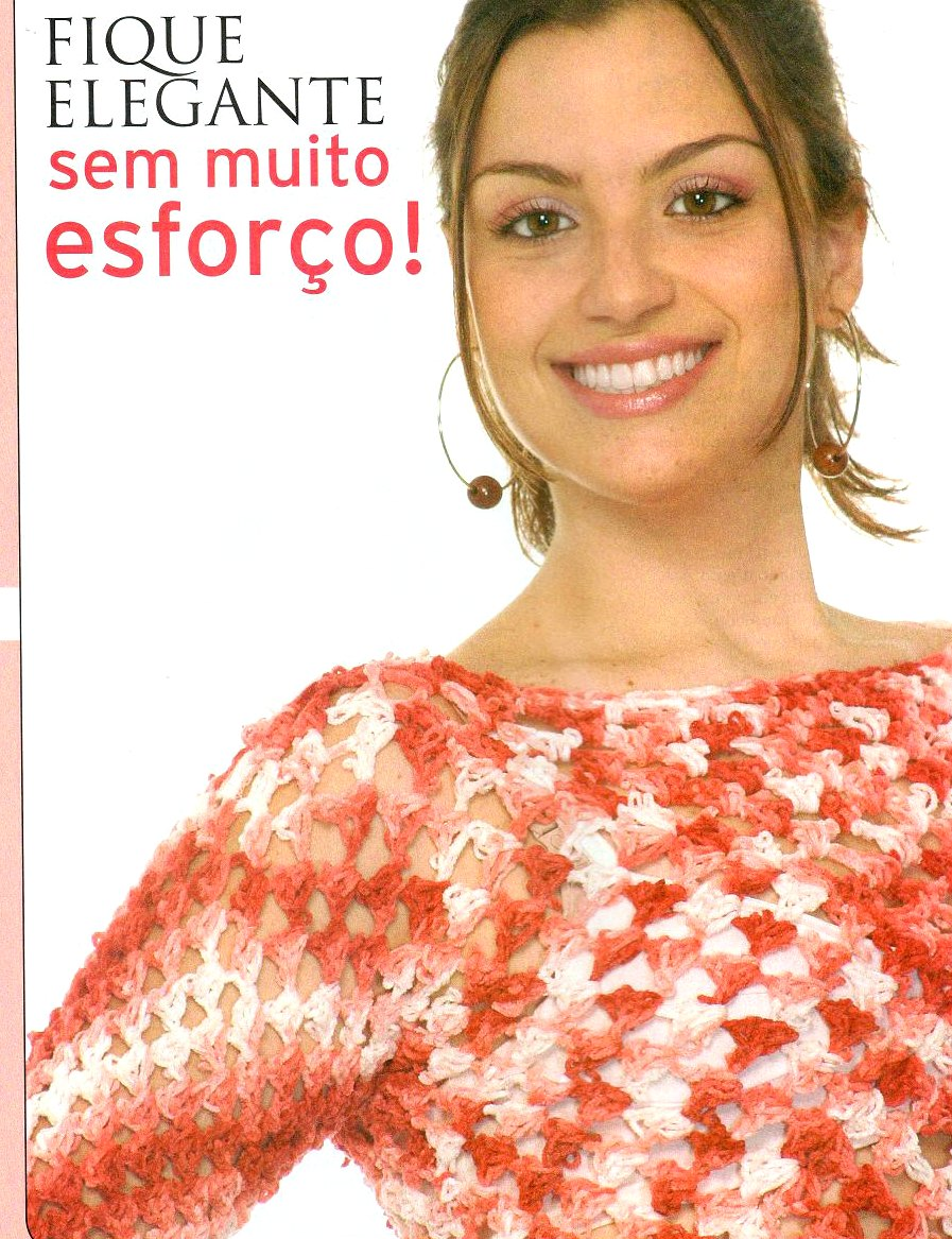 Medio Top Crochet Mezclado