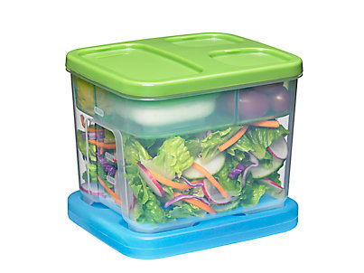 The Funky Monkey Rubbermaid Lunchblox Salad Kit