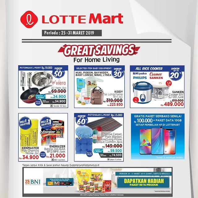 #LotteMart - #Promo #Katalog Periode 25 - 31 Maret 2019