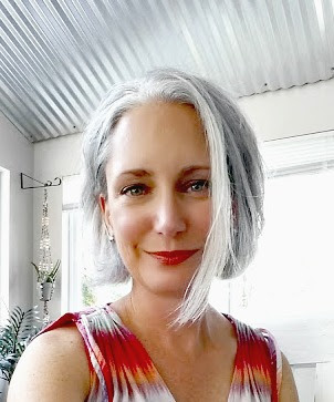 Short Gray Hairstyle Bob