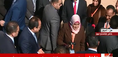 الرئيس السيسي والسيدة