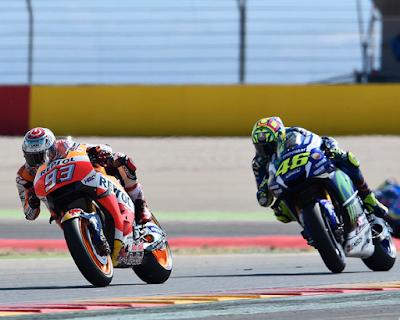 Rossi: Saya Bakal Kejar Marquez Hingga Valencia