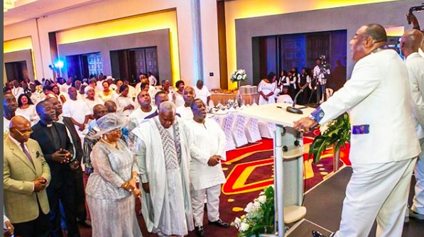 Exclusive photos from John Mahama and Lordina's 25th wedding anniversary at Kempinski Hotel in Accra
