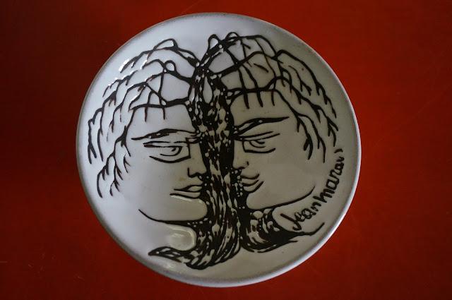 céramique de Jean Marais