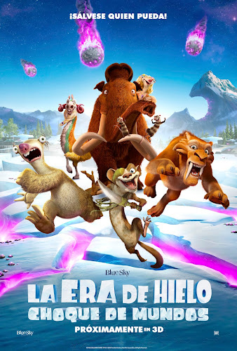 Ice Age: Collision Course (BRRip 720p Dual Latino / Ingles) (2016)