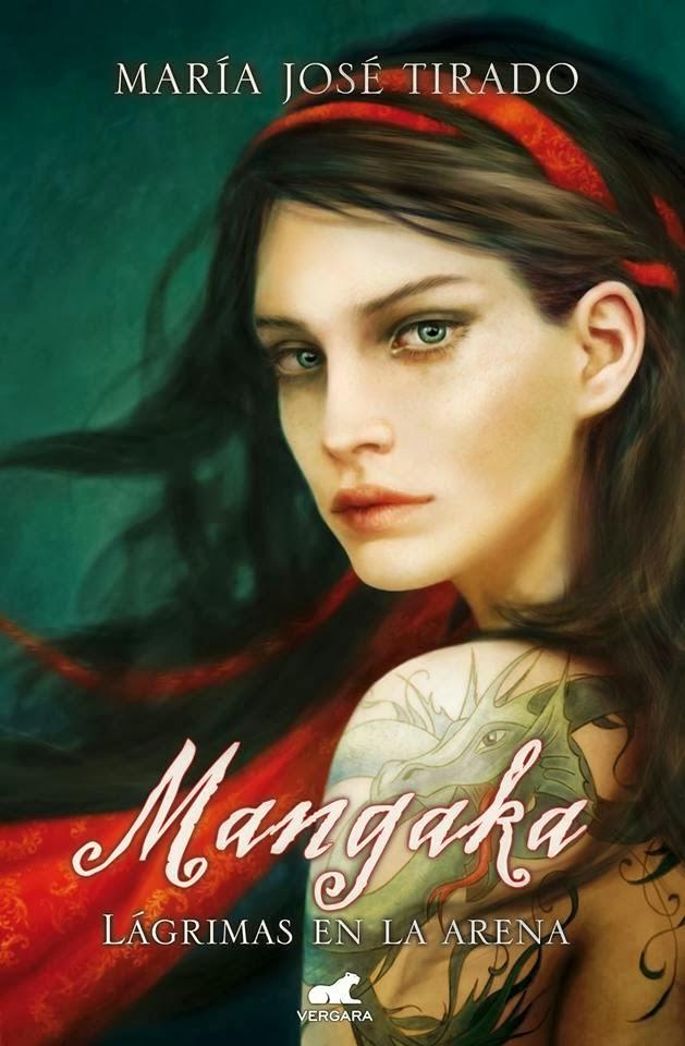 Portada de la novela romántica contemporánea de suspense Mangaka, de María José Tirado