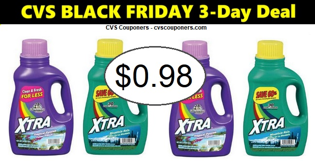 http://www.cvscouponers.com/2018/11/stock-up-xtra-laundry-detergent-only.html
