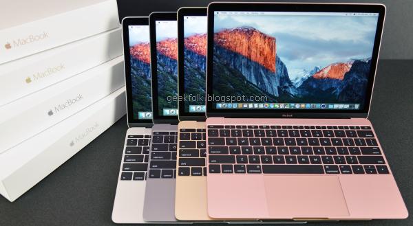 Apple MacBook 12in (2016)