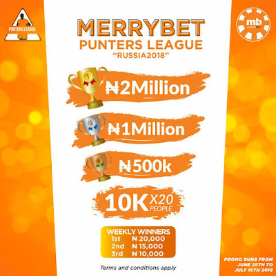 Win-Millions-in-Merrybet-Punter-League-For-Russia-2018.