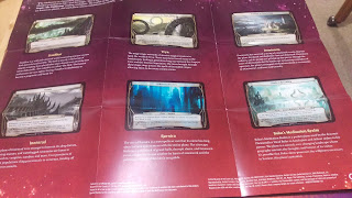 Strategy Insert with a description of some of the Planar Cards