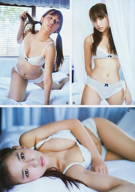 浅川梨奈 Nana Asakawa Young Gangan No 19 2017 Images