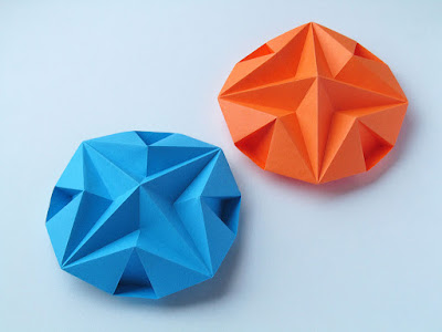 Origami Stella dodecagonale - Dodecagonal Star, Francesco Guarnieri