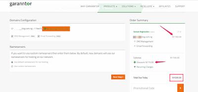 nigeria web hosting company garanntor promotional code