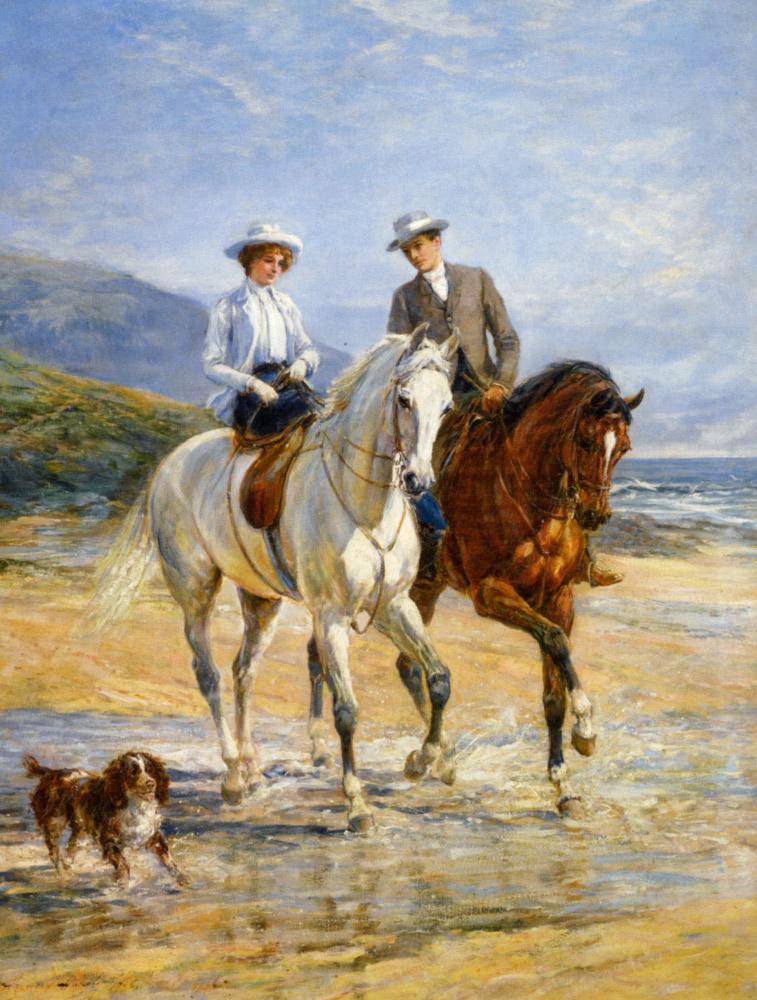 Girls Corn Wallpaper Victorian British Painting Heywood Hardy