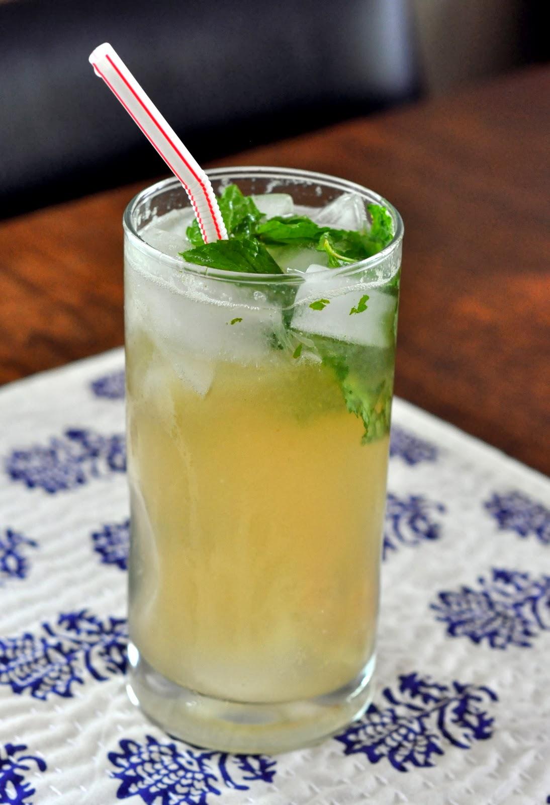 Ginger Mojito Mocktail   Taste As You Go