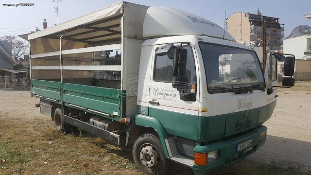 Πωλείται μελισσοκομικό φορτηγό MAN '00 στην Ξάνθη