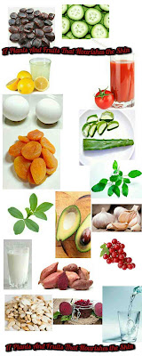 17 Plants And Fruits That Nourishes the Skin infographic