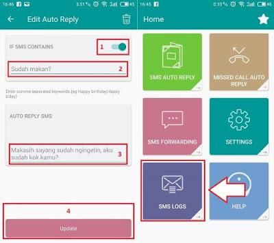 Cara Mudah Balas SMS Secara Otomatis di Android