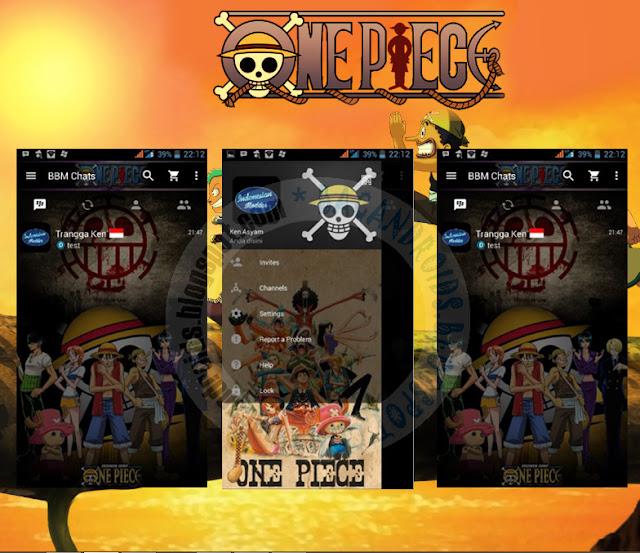 BBM Mod One Piece Theme Apk Versi 2.13.1.14 Terbaru Saat ini