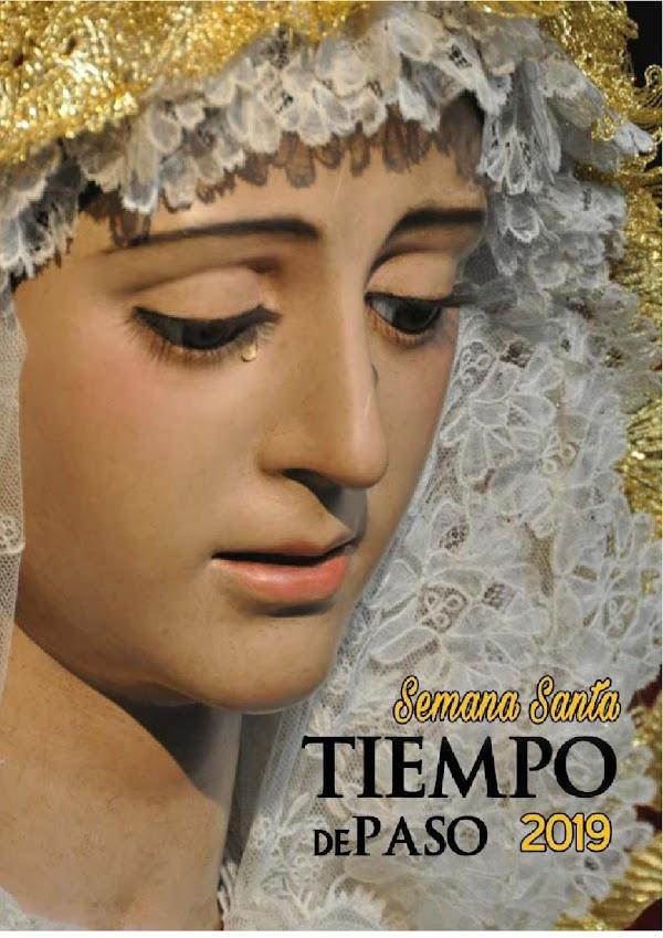 """Horario e Itinerario Semana Santa Sevilla 2019: Programa de Mano """"Tiempo de Paso"""""""