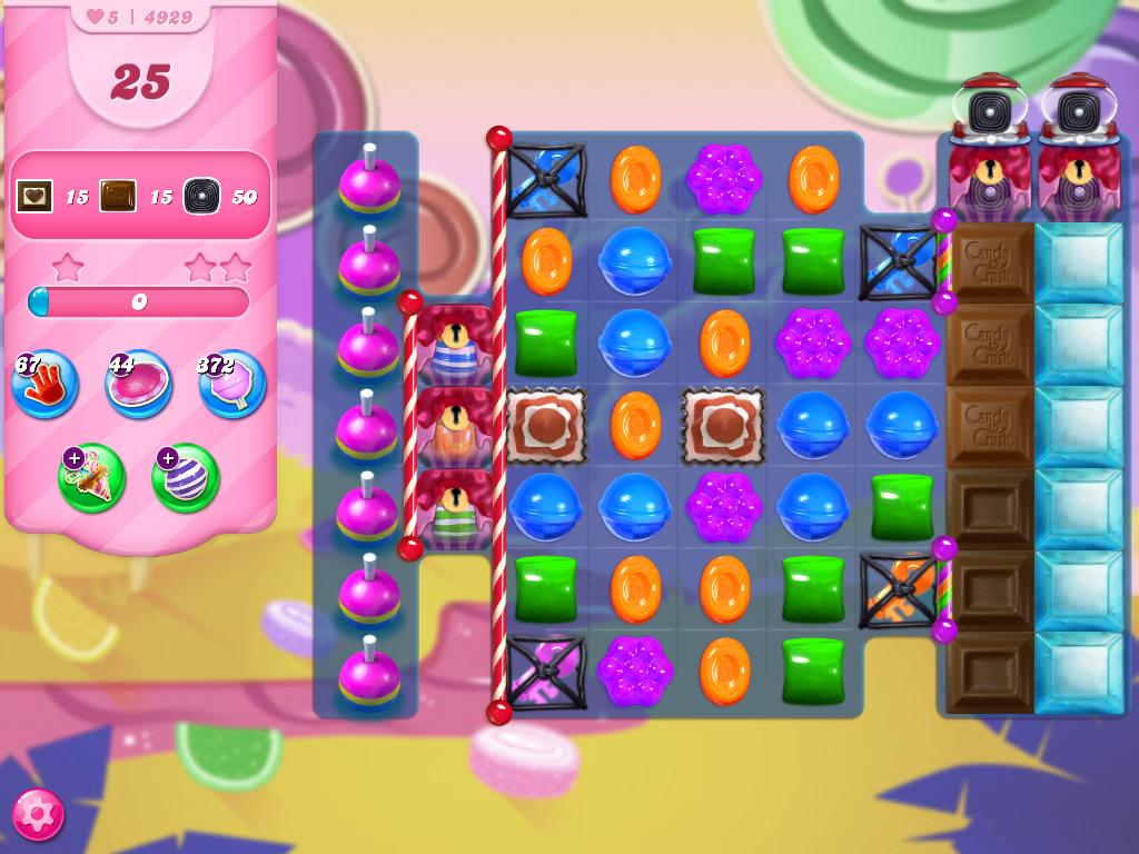 Candy Crush Saga level 4929