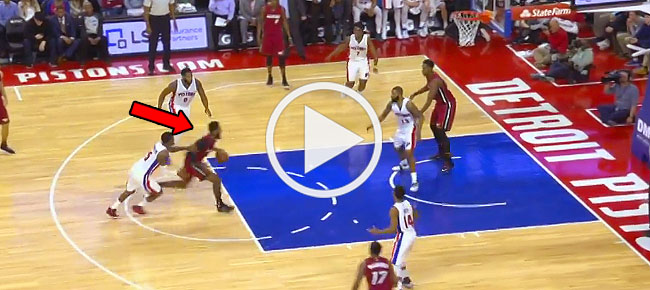 James Johnson THROWS DOWN A MASSIVE Dunk in Detroit! (VIDEO)