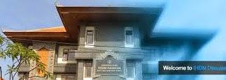 Info Pendaftaran Mahasiswa Baru ( IHDN-DENPASAR ) 2019-2020 Institut Hindu Dharma Negeri Denpasar