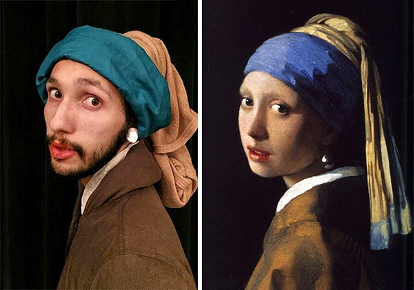 recreating famous artwork fools do art