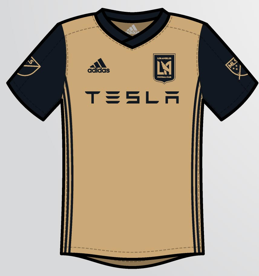 competitive price f2d35 e15f2 Los Angeles FC MLS Concept Jerseys By Saathoff - leaked soccer