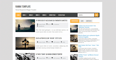 Download Template Ramai Responsive - Gratis