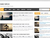 Download Template Ramai Responsive - Gratis