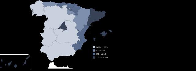Mapa Saldo Migratorio Interior, Francisco Javier Tapia, Knowmadrid