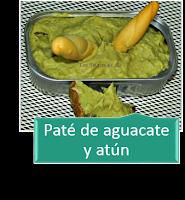 PATÉ DE AGUACATE Y ATÚN