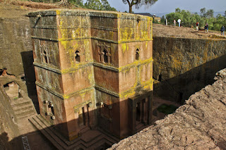 Church of Saint George; Lalibela, Ethiopia