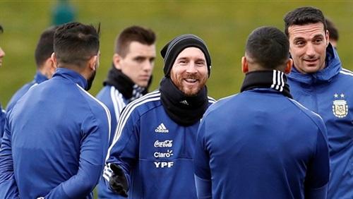 استعداداً لمونديال روسيا..ميسي يلتحق بتدريبات المنتخب الأرجنتيني