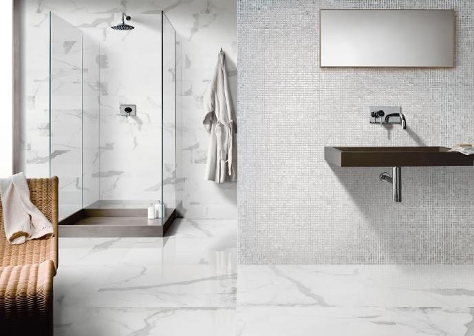 Motif keramik dinding kamar mandi mewah terbaru