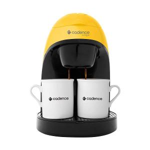 Cafeteira Elétrica Cadence Single CAF114 com 2 Xícaras - Amarelo